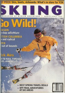 Skiing Mag Cover 1999